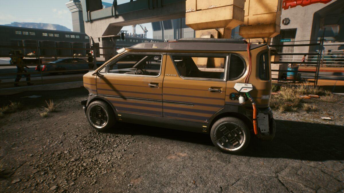 Cyberpunk 2077 Fahrzeuge Makigai Supron FS3