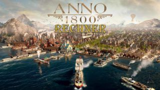 Anno 1800 Calculator