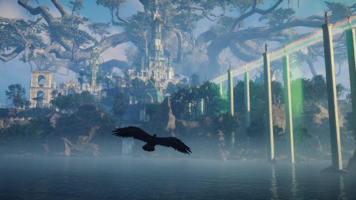 Das Schloss von Asgard in Assassin's Creed Valhalla.