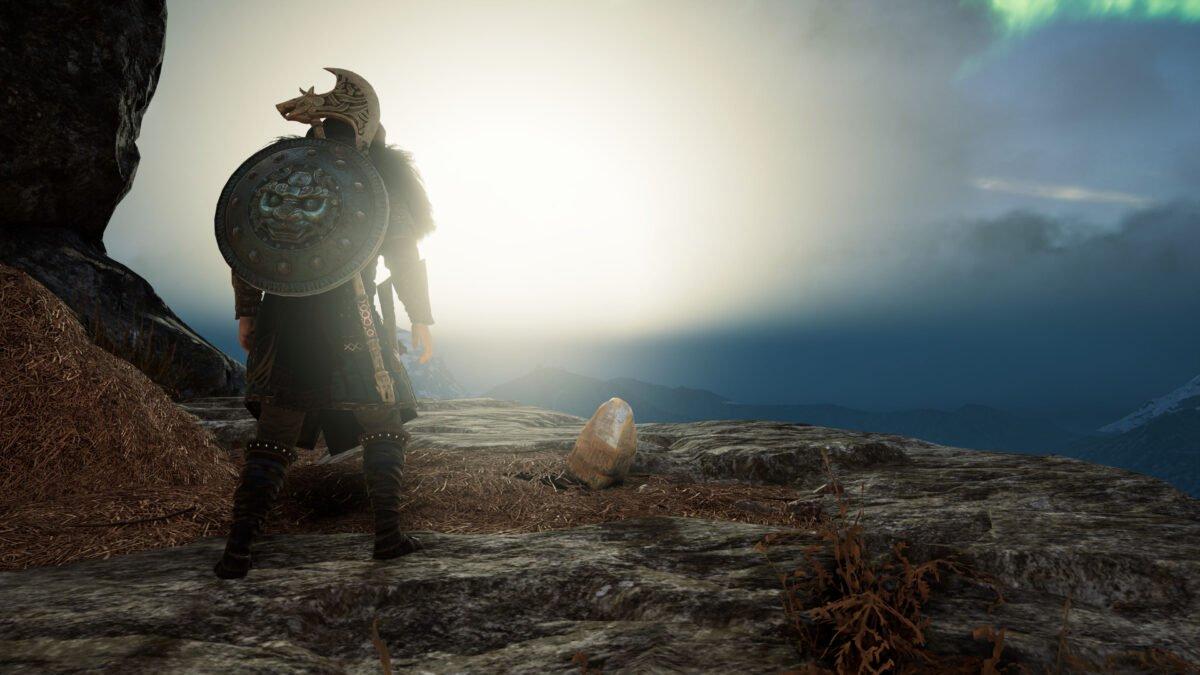Der Keimling des Bergs Beinahruga von Asgard in Assassin's Creed Valhalla.