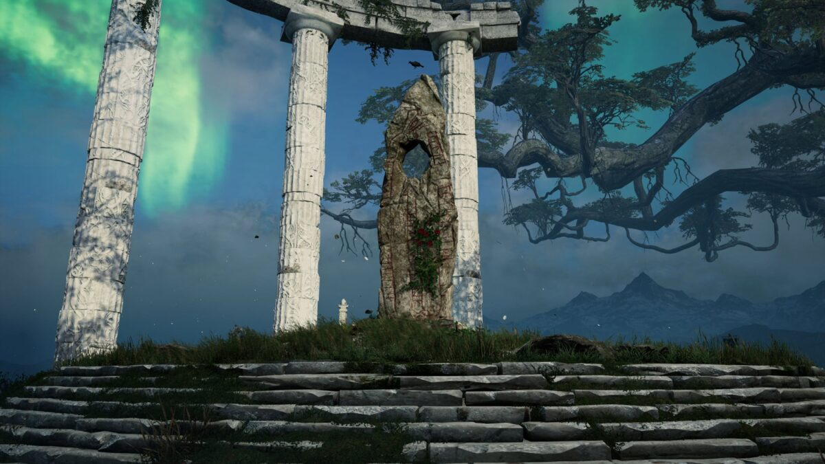 Ymirs Altar in Asgard in Assassin's Creed Valhalla.