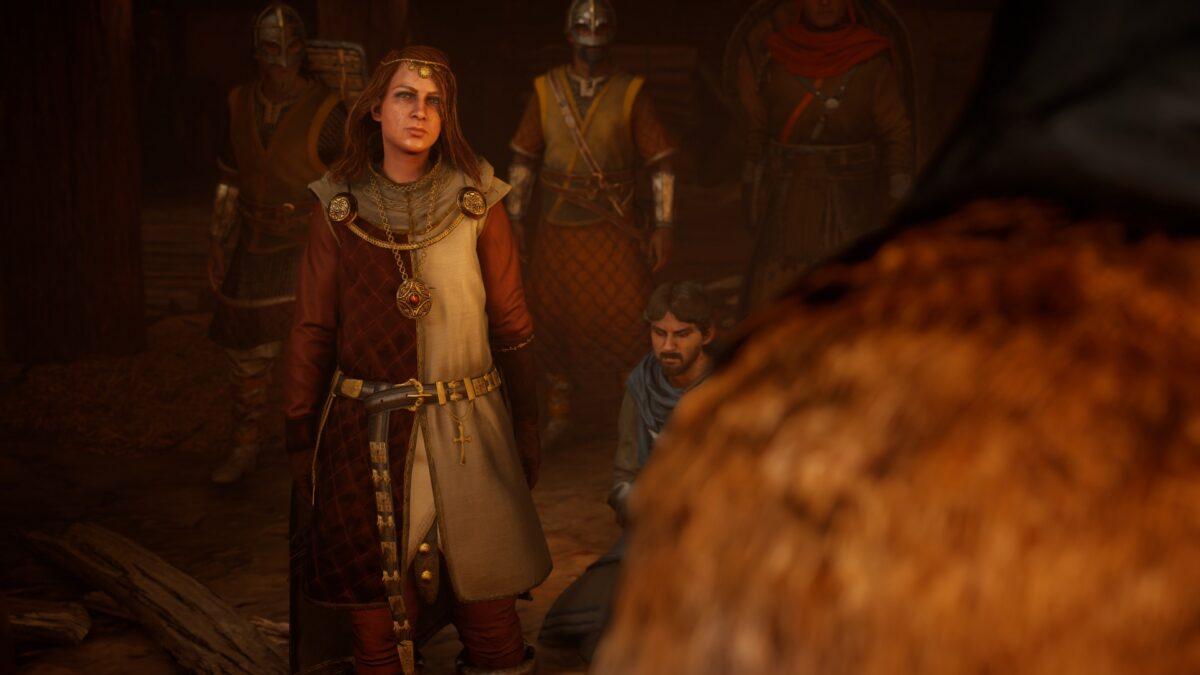 Eadwyn will in Assassin's Creed Valhalla die Macht in Oxenafordscir an sich reißen