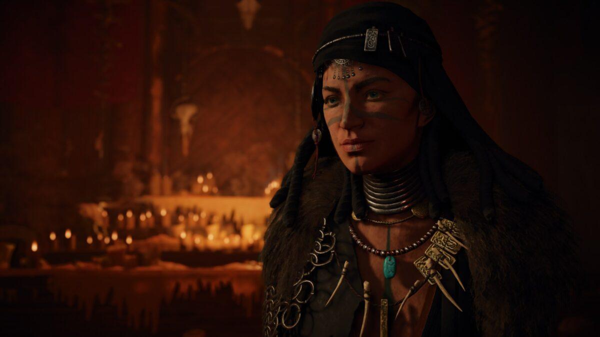 Die Seherin Valka in Assassin's Creed Valhalla.