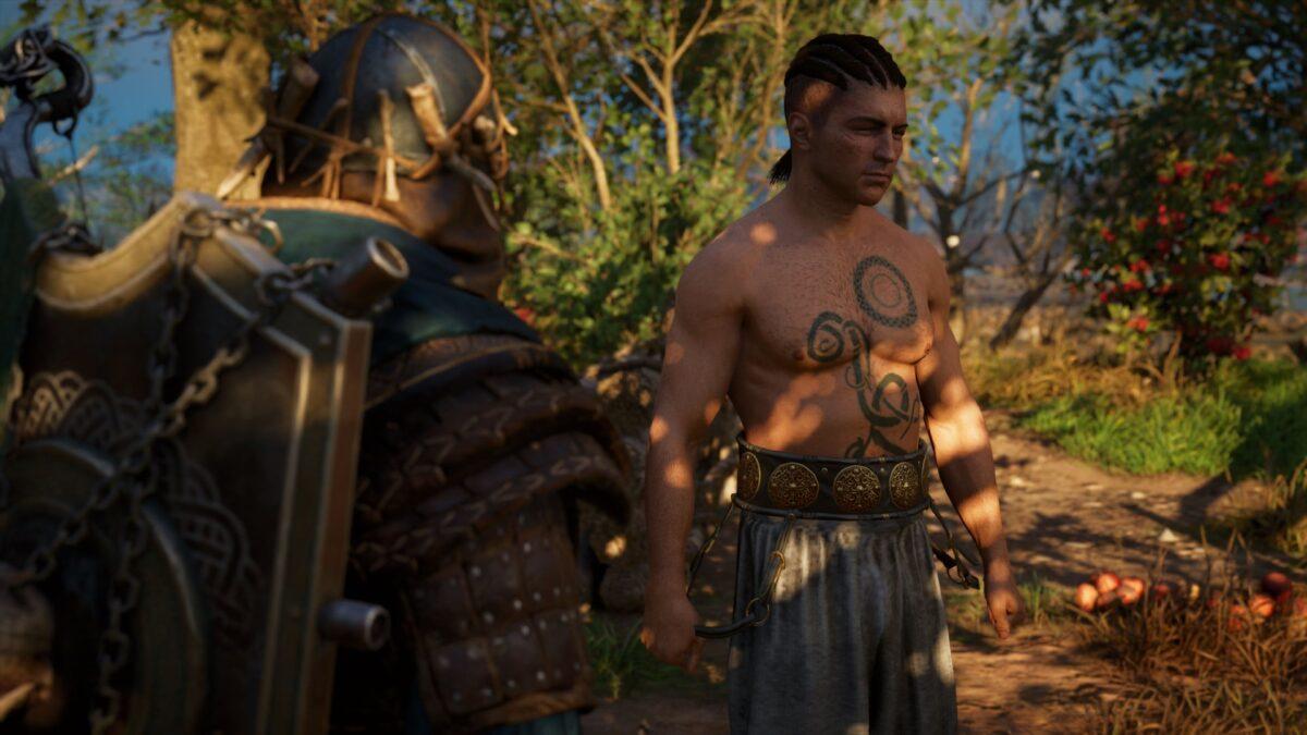 Die Nordmänner Eivor und Hrolf in Assassin's Creed Valhalla.