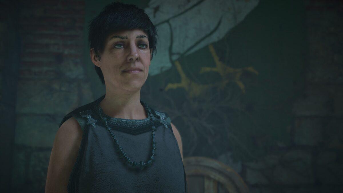 Pflegerin Galvyna in der Bolingbroc-Veste in Assassin's Creed Valhalla.