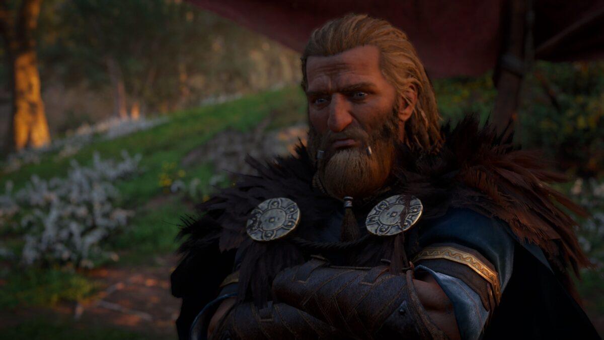 Jarl Gudrum in Assassin's Creed Valhalla.