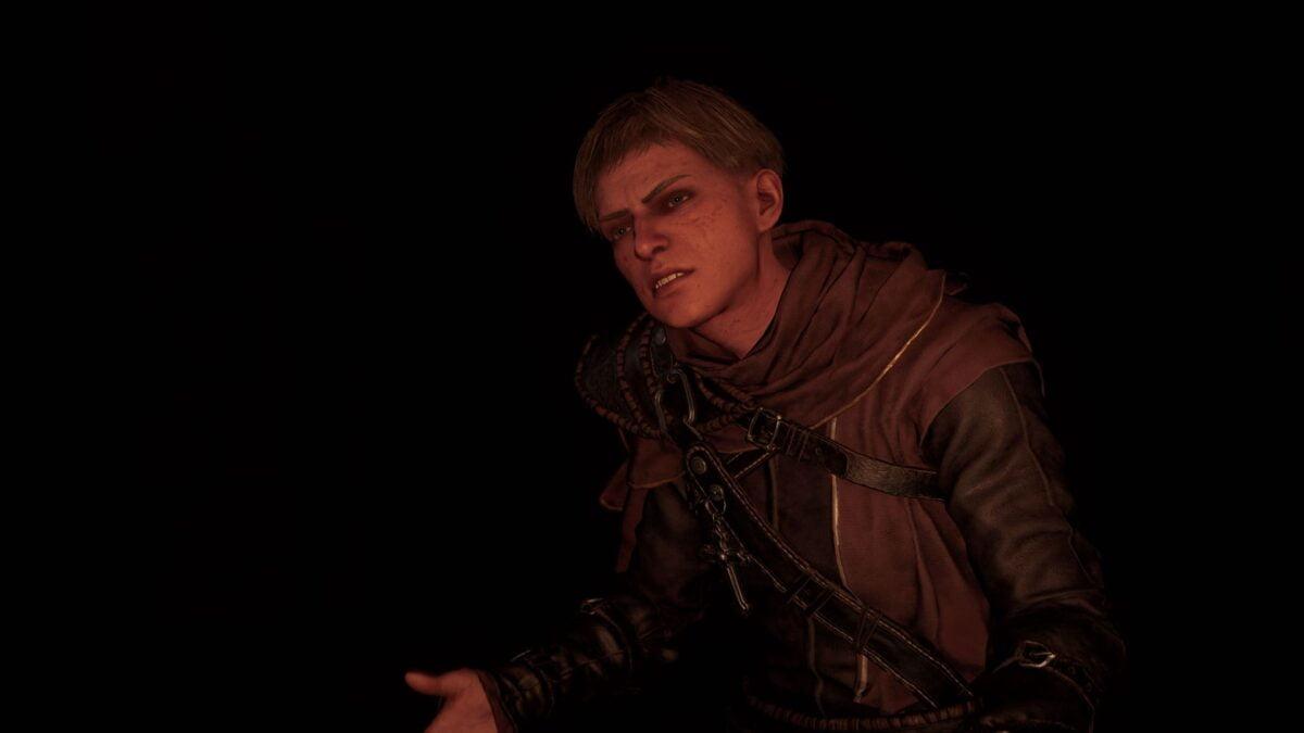 Paladin Fulke provoziert Wikinger Eivor in Assassin's Creed Valhalla.