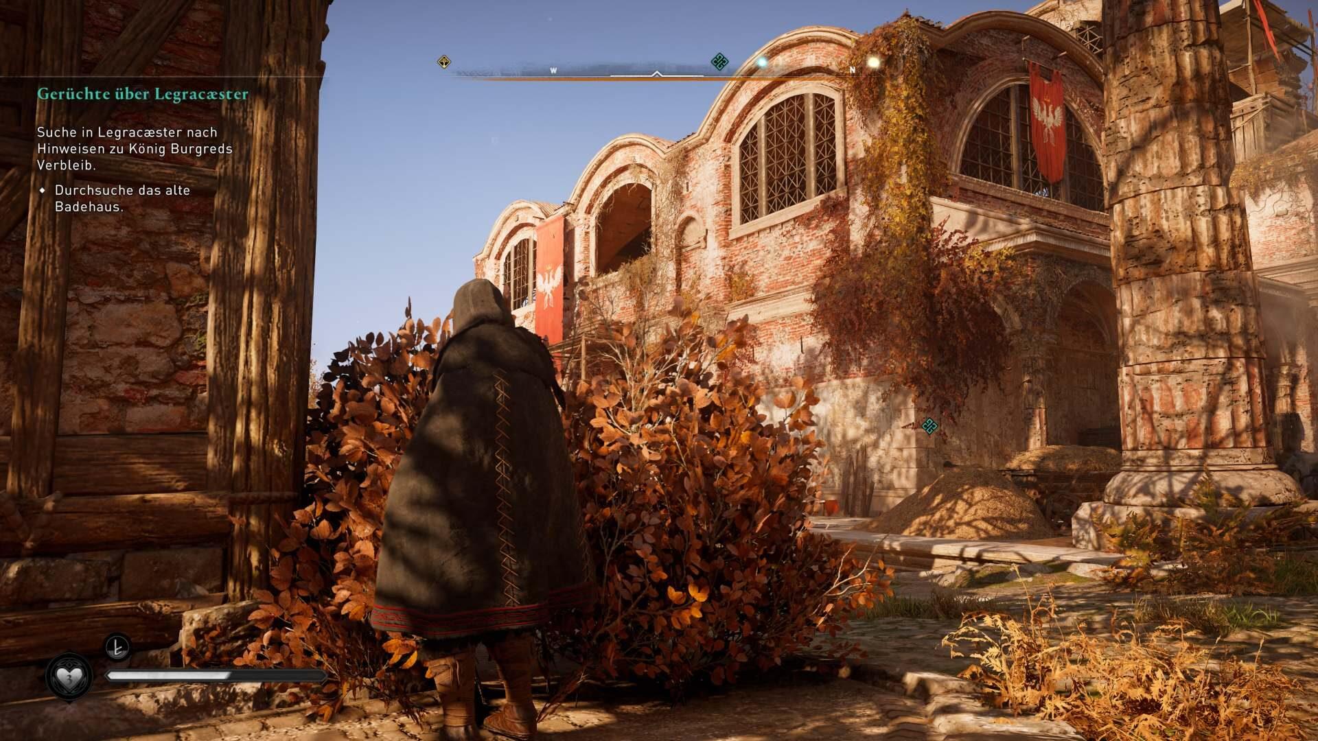 Die Kirche von Legracaester in Assassin's Creed Valhalla.