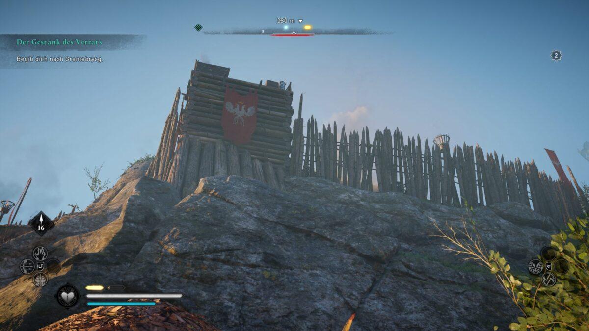 Die Wachtürme von Hraefnaburh  in Assassin's Creed Valhalla.