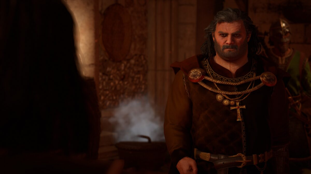 Britonnen-König Rhodri will in Assassin's Creed Valhalla Ivar Ragnarssons Kopf.