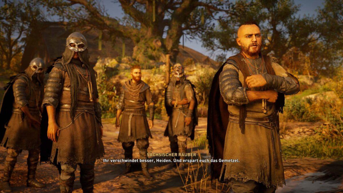 In unserer Assassin's Creed Valhalla Lösung beschreiben wir, wo man auf diese sächsischen Räuber trifft.