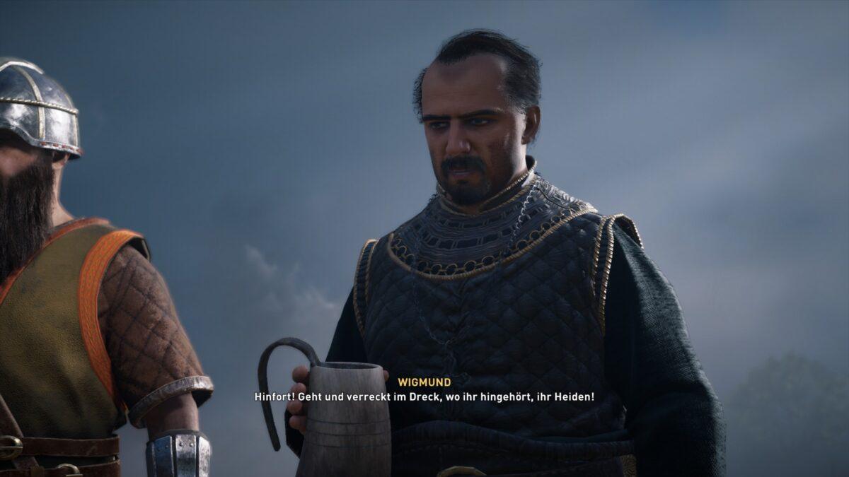 Wigmund stellt sich Soma und dem Sommerheer in Assassin's Creed Valhalla entgegen.