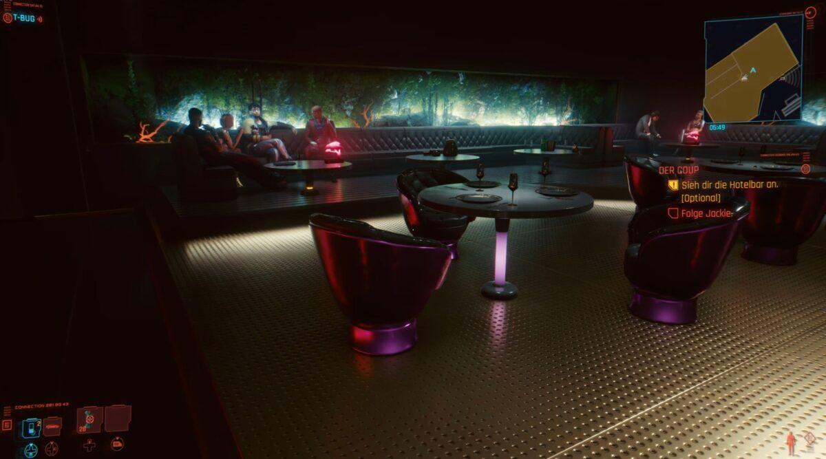 In Cyberpunk 2077 findet ihr Hideo Kojima als Easter Egg unter den Gästen in der Bar des Konpeki Plazas.