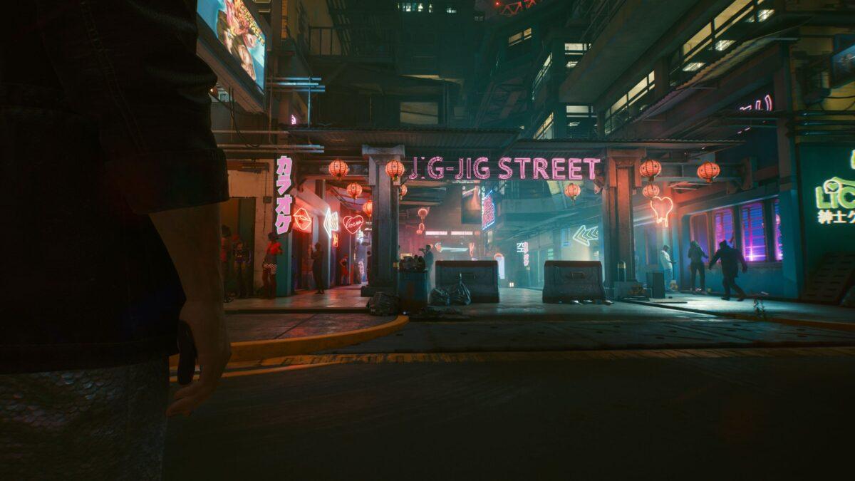 Die Jig-Jig Street ist der Rotlicht-Bezirk von Night City in Cyberpunk 2077.