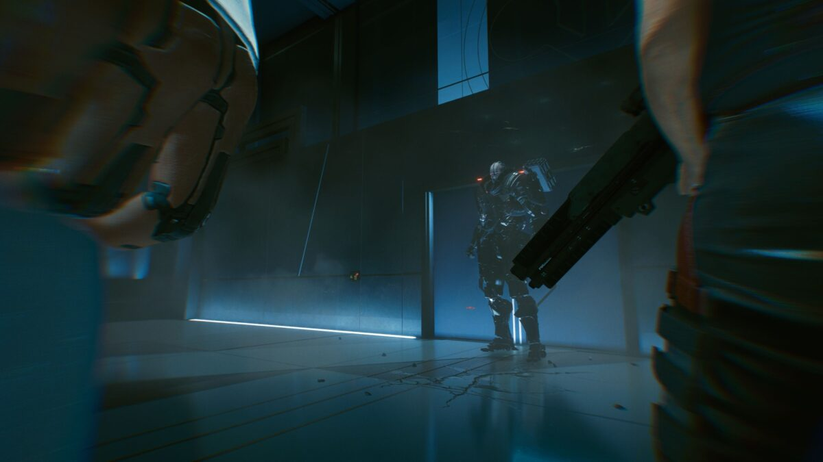 Der finale End-Boss in Cyberpunk 2077 ist Halb-Cyborg Adam Smasher.