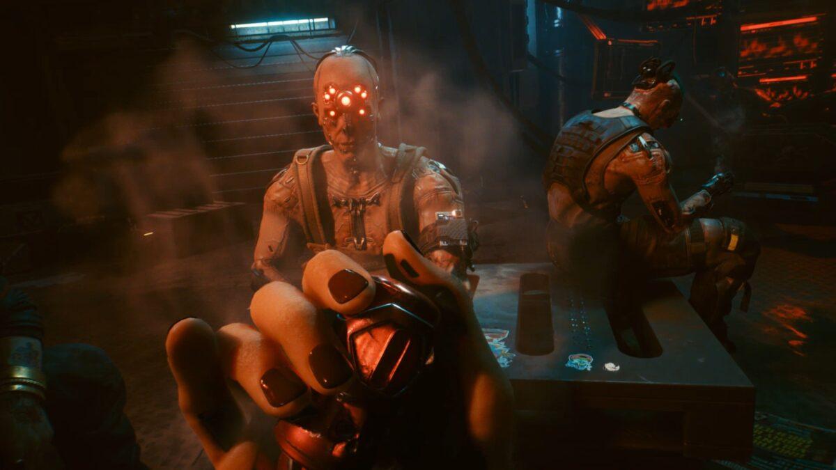 Dum Dum ist Mitglied der Gang Maelstrom in Cyberpunk 2077.