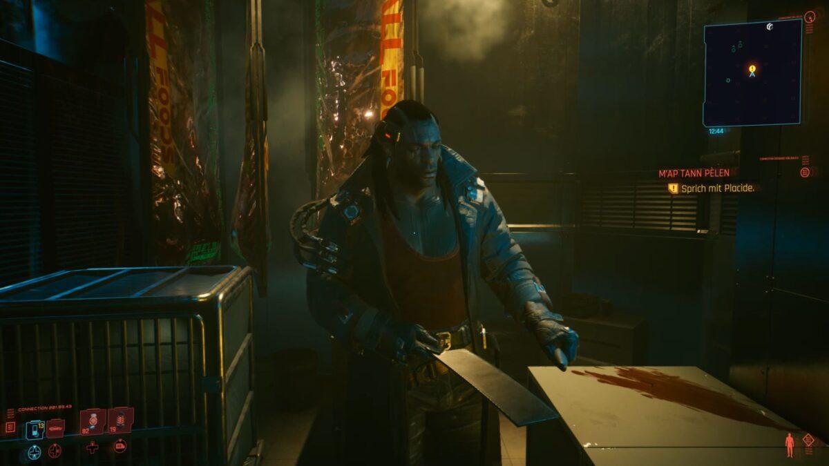 Placide ist ein ranghoher Voodoo Boy in Cyberpunk 2077.