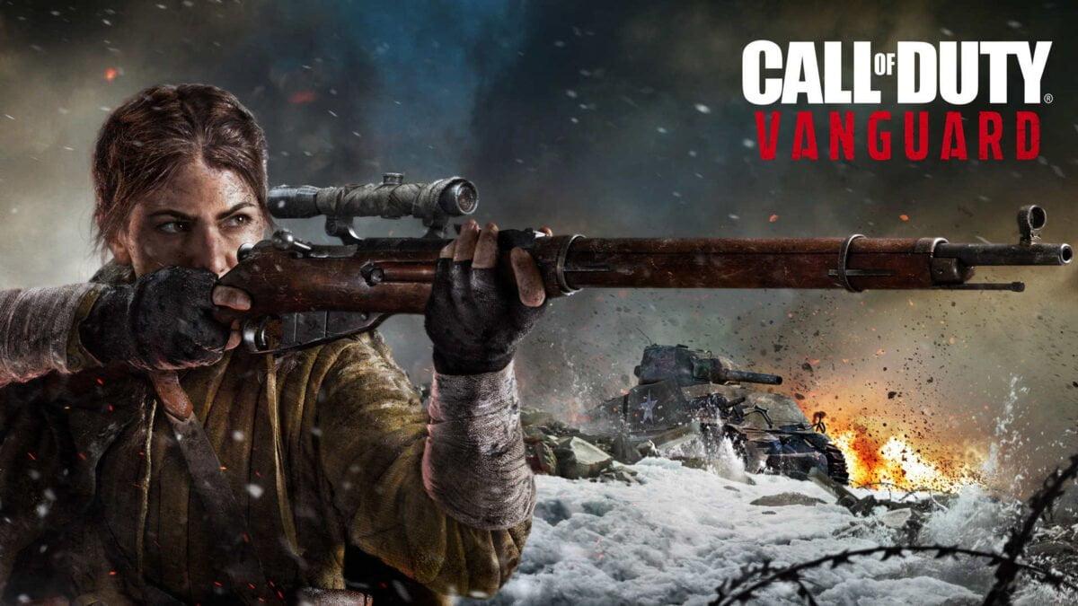 Die sowjetische Scharfschützing Polina in Call of Duty: Vanguard