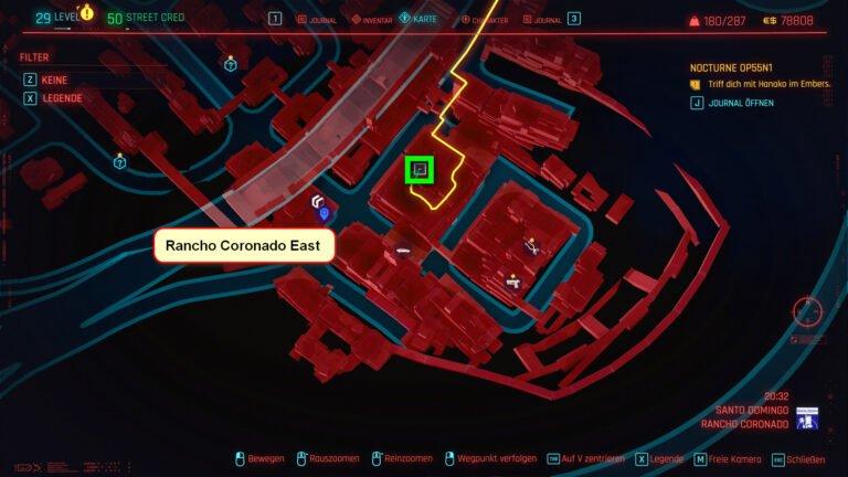 Position für ikonische Waffe Divided We Stand in Cyberpunk 2077
