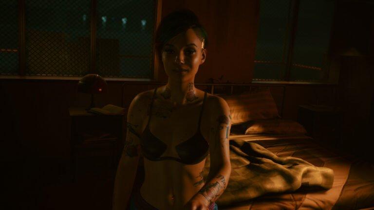 Sex mit Judy in Cyberpunk 2077