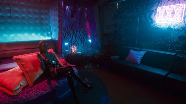 Sex mit Meredith Stout in Cyberpunk 2077