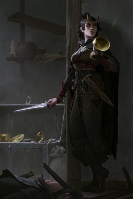 Kaessi in Pathfinder: Kingmaker