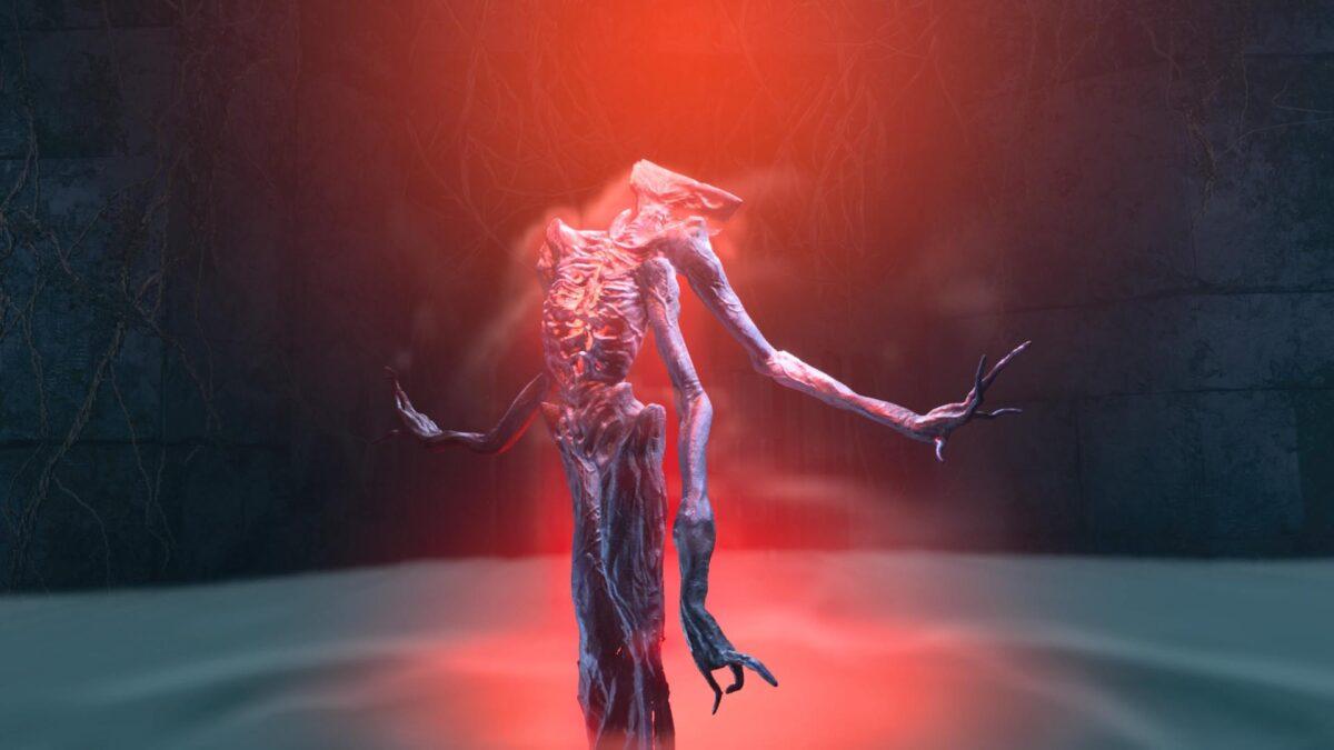 Am Ende des ersten Bioms in Returnal erwartet euch Boss-Gegner Phrike.