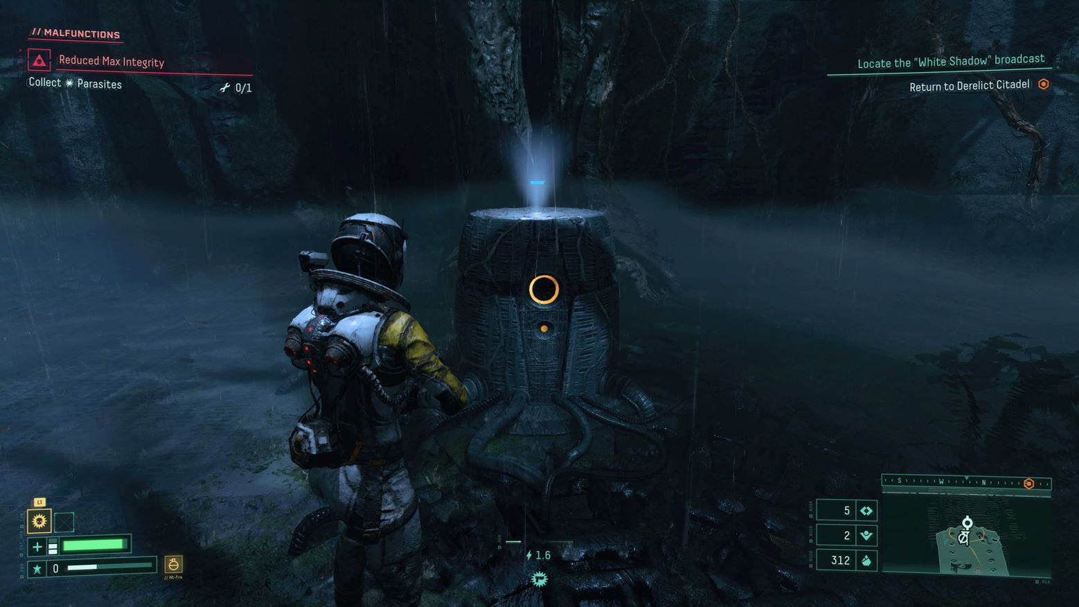 Items can be produced in Returnal by using fabricators in the PS5 Game Returnal.