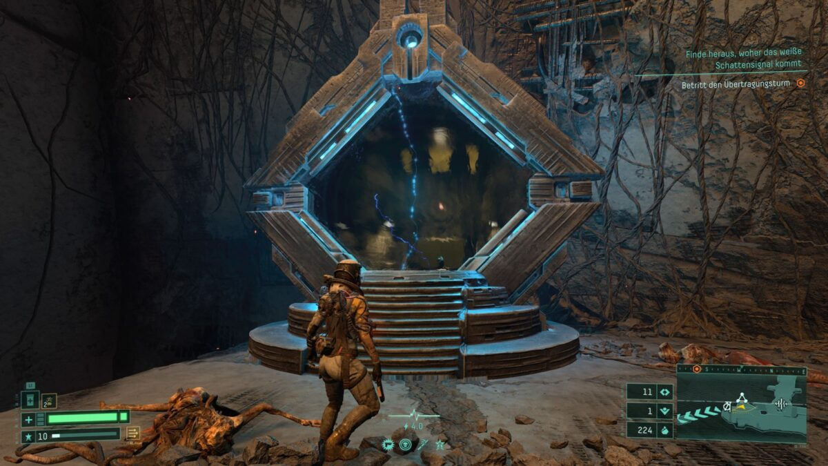 A portal in the PS5 game Returnal.