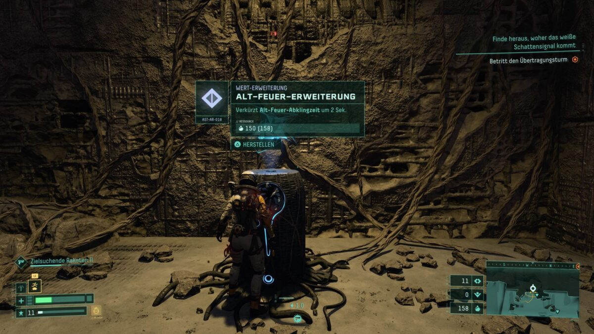 Manche Artefakte unterstützen das Alt-Feuer der Waffen in Returnal.
