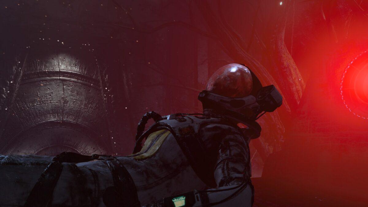 Dying Selene in the PS5 Game Returnal