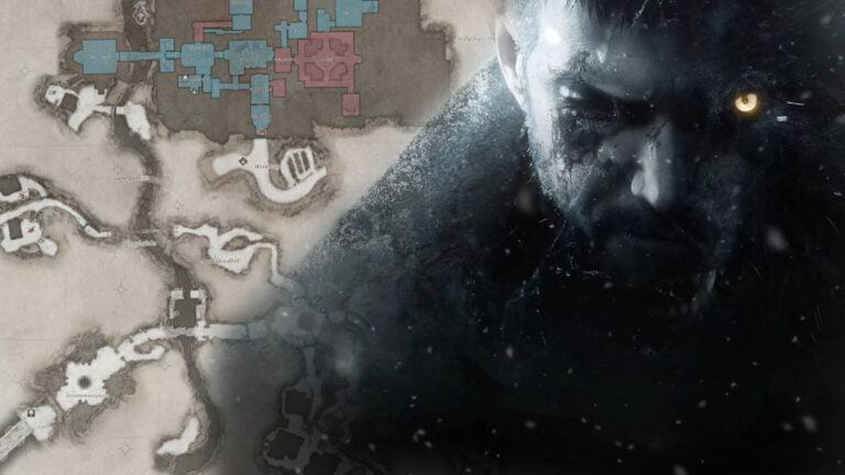 Resident Evil 8 Village: Interaktive Karten mit Tipps & Tricks