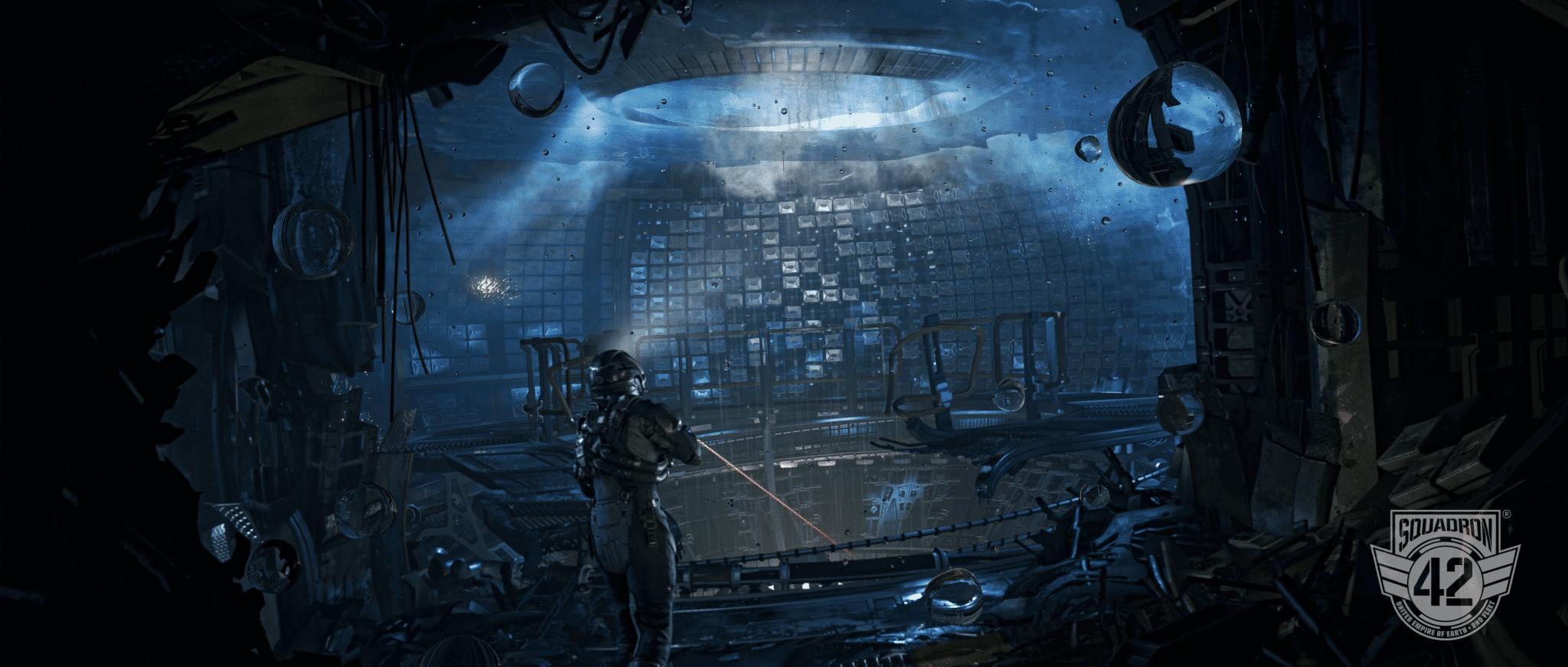 Solange Umfang und Qualität nicht leiden, hätte wohl kaum jemand etwas gegen eine Portierung von Squadron 42 für Konsolen. © Cloud Imperium Games