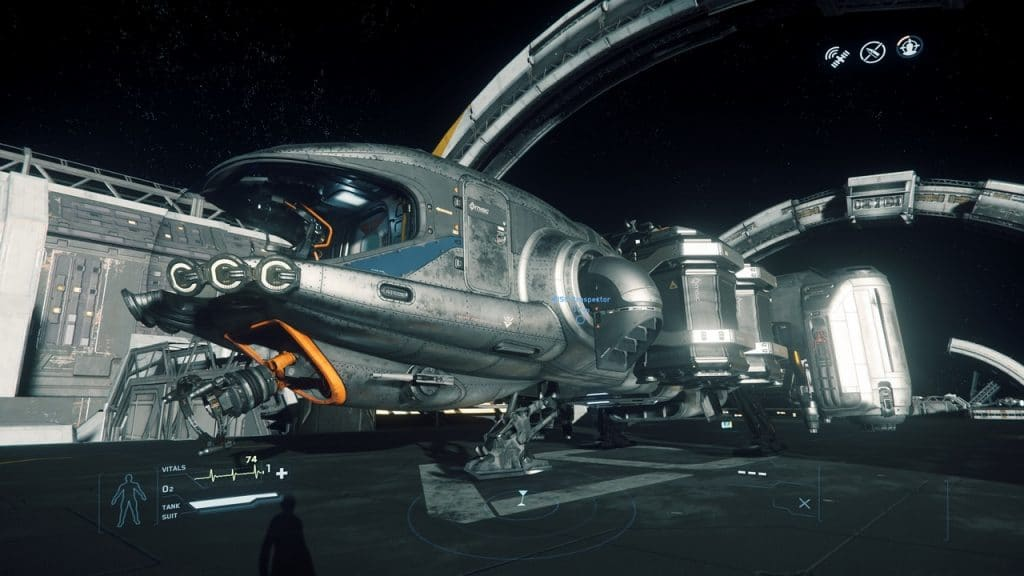 Einige Komponenten der Prospector (etwa Schildgeneratoren und Waffen) können bereits ausgetauscht werden. © Cloud Imperium Games