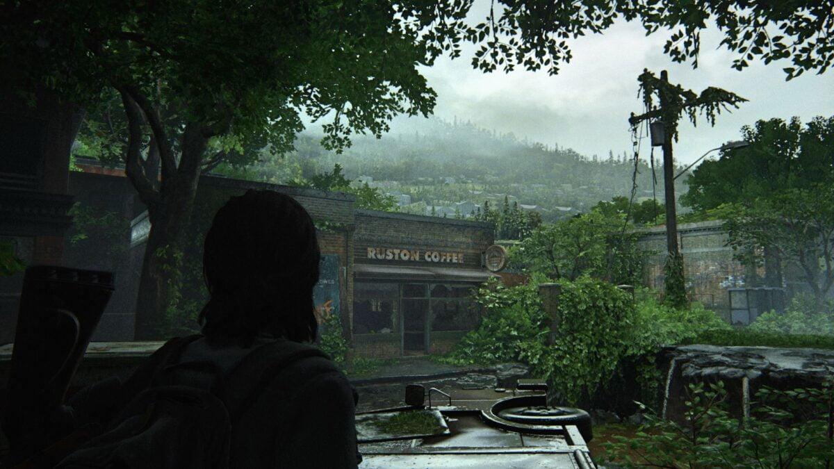 Das Ruston Coffee ist einer der Läden im Viertel Hillcrest von The Last of Us Part 2.