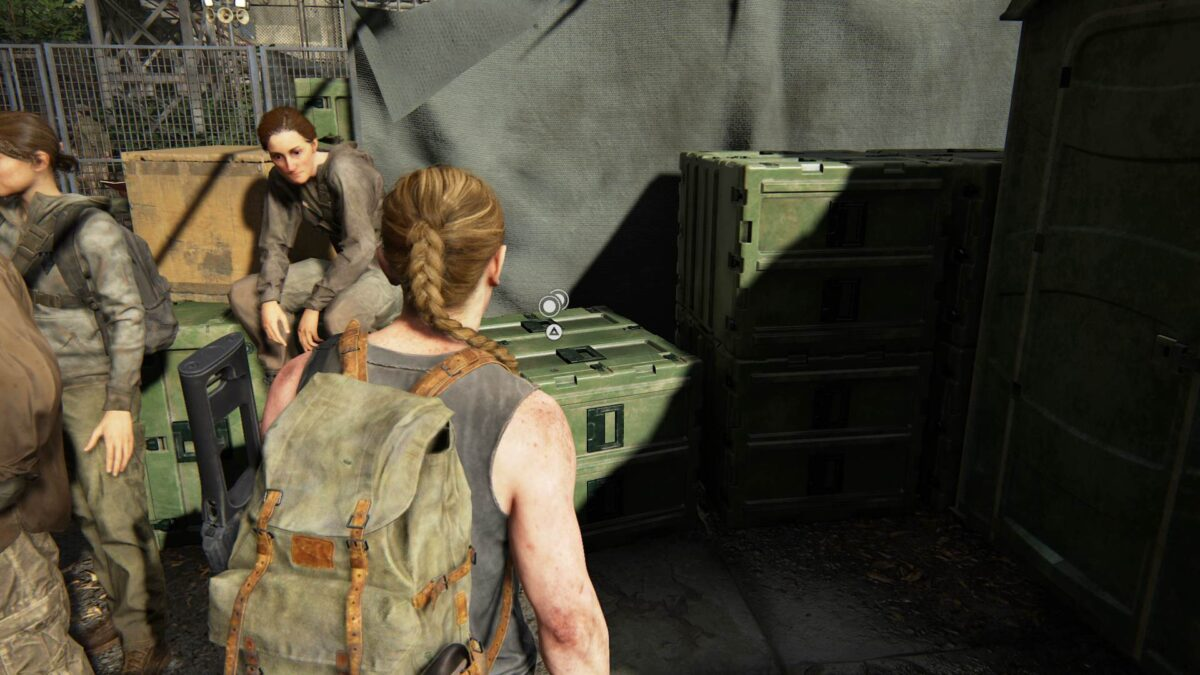 Abby findet in The Last of Us 2 eine Münze mit der Prägung New Mexico.