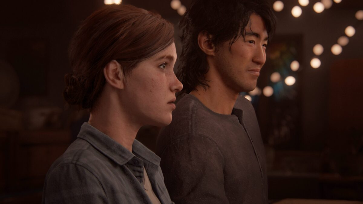 Ellie und Jesse sind in The Last of Us 2 gemeinsam auf einem Tanz in Jackson.