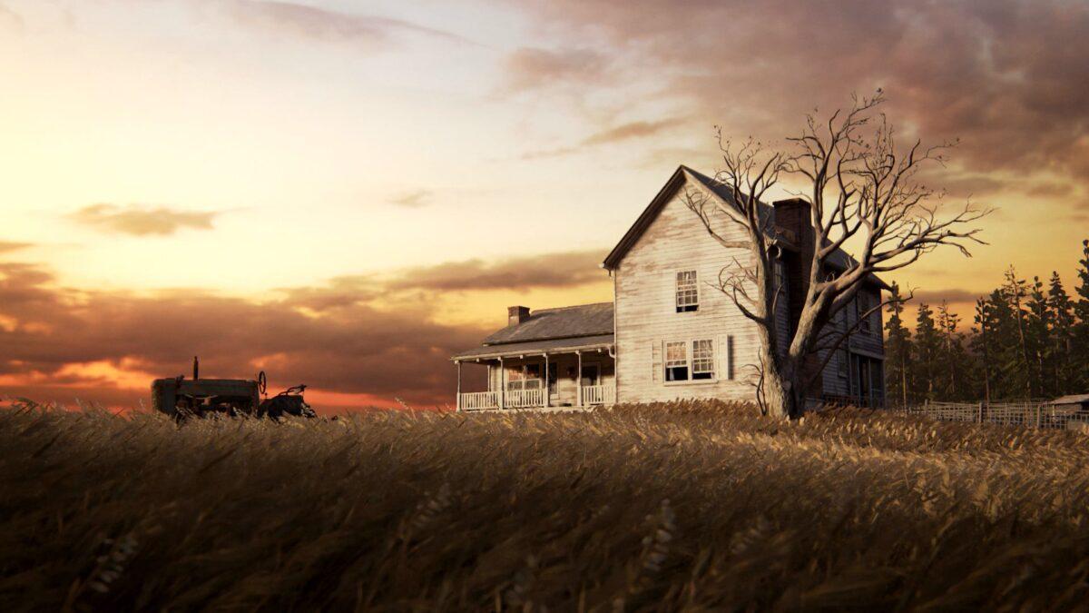 Eine alte Farm in The Last of Us 2.