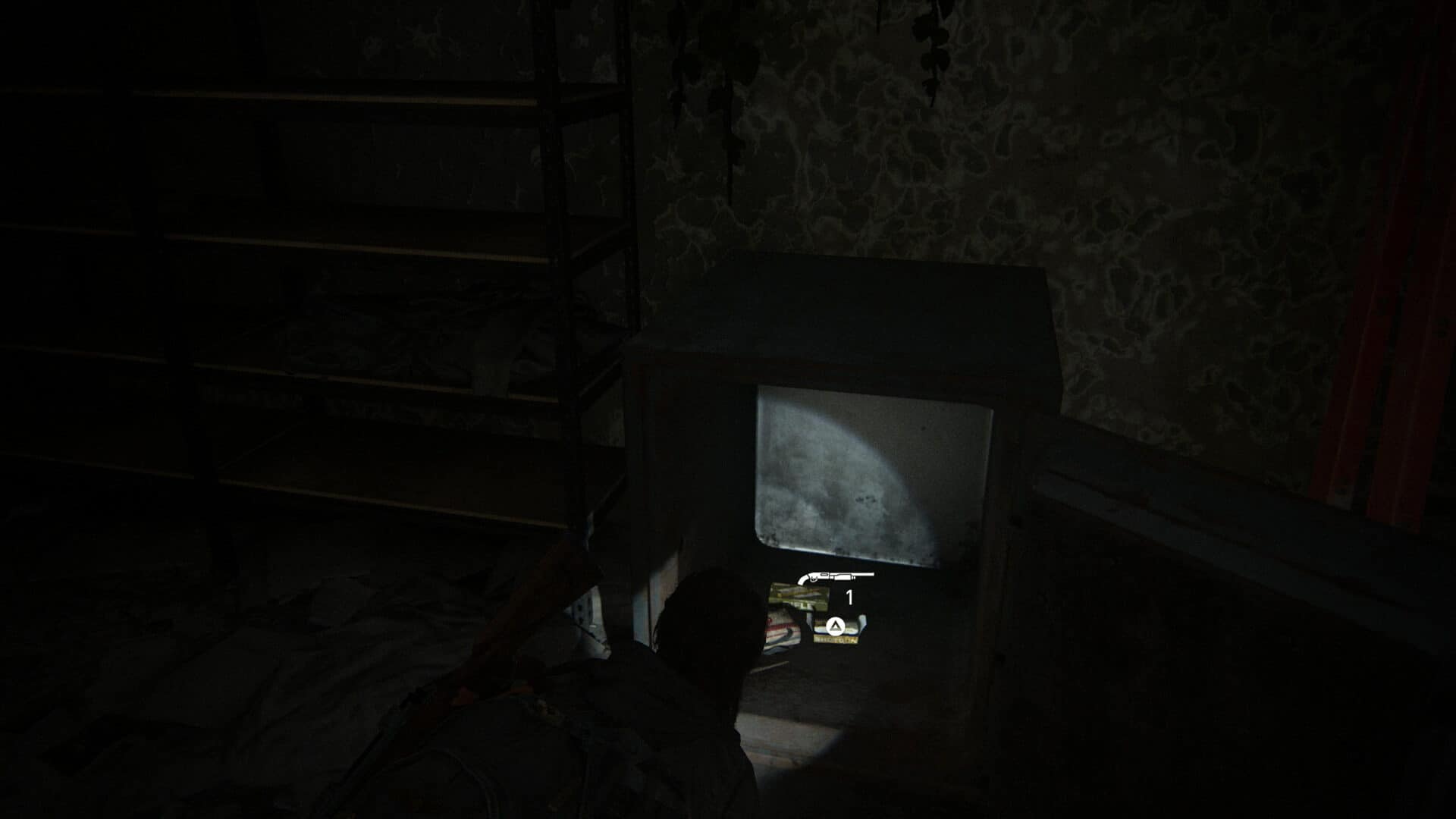 You can finde some ammo inside the safe in the second-hand shop Wellwishes in The Last of Us 2.