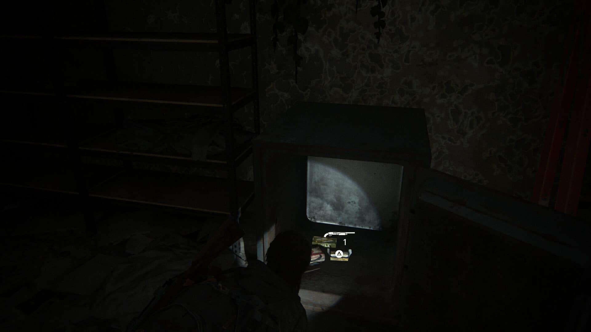 Im Safe im Gebrauchtwarenladen Wellwishes in The Last of Us 2 findet sich unter anderem Munition