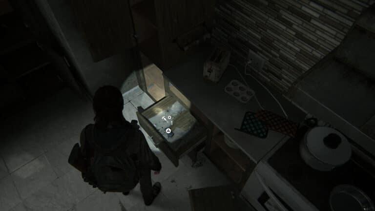 Upgrade-Teile in der Schublade unter dem Toaster in Haus Nummer 3.