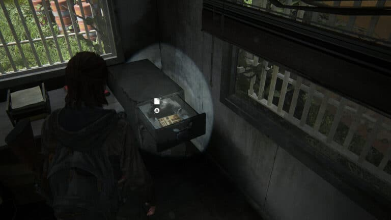 The location of the artifact Map of Seattle in The Last of Us 2.