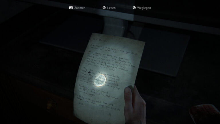 """Das Artefakt """"Brief einer WLF- Deserteurin"""" in The Last of Us 2"""