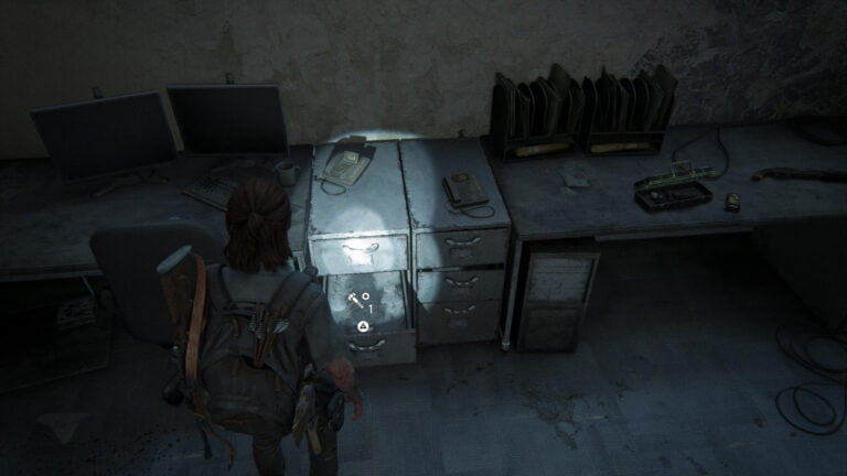 1 Upgrade-Teil im Büro der Lobby im Seattle Conference Center in The Last of Us 2