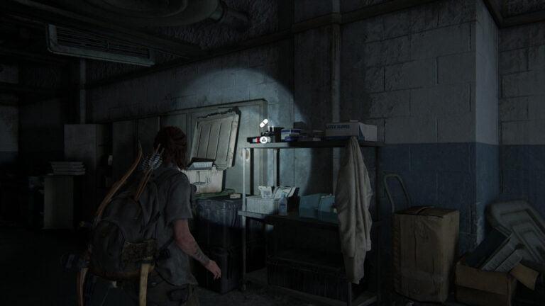 11 Zusätze im Krankenhausflur im Lakehill Hospital in The Last of Us 2