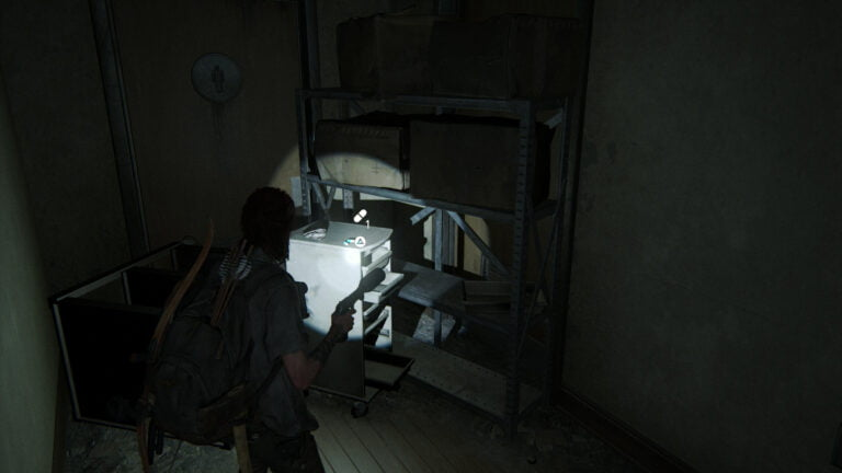 3 Zusätze im Aufenthaltsraum im Lakehill Hospital in The Last of Us 2
