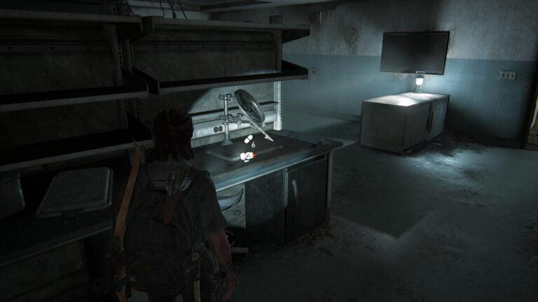 7 Zusätze in Laborraum 2 des Lakehill Hospitals in The Last of Us 2
