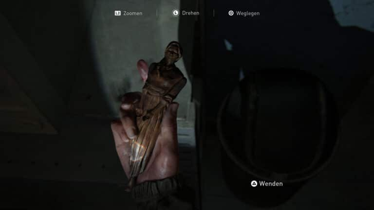 The artifact Whittled Statue in The Last of Us 2.