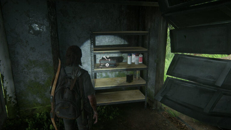 10 Upgrade-Teile in der Garage von Haus 5 in The Last of Us 2