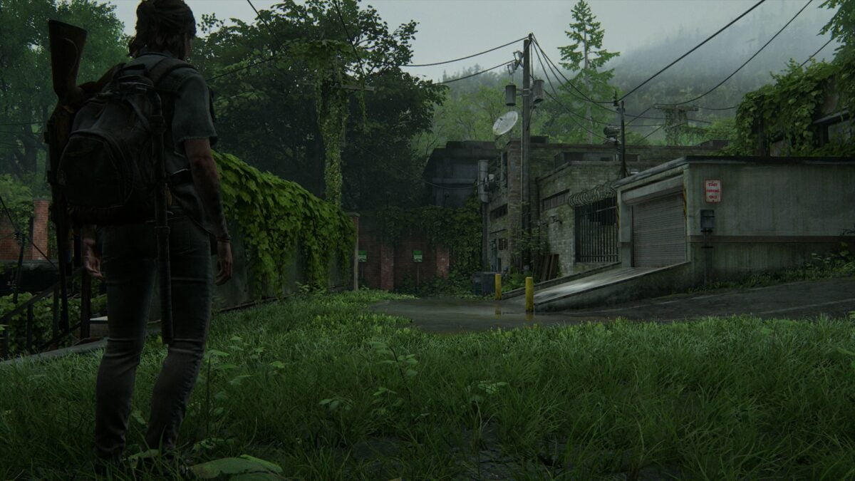 Dritter Levelbereich in Hillcrest in The Last of Us 2